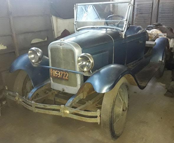 Car Chevrolet 1927