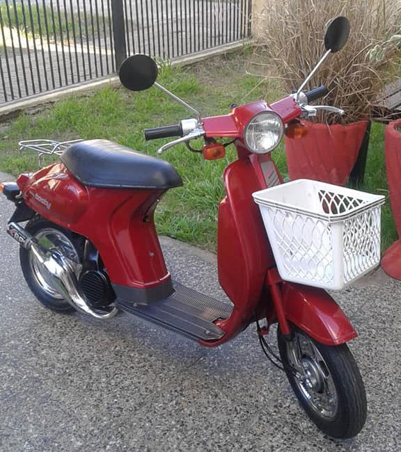 Honda Tacty Motorcycle