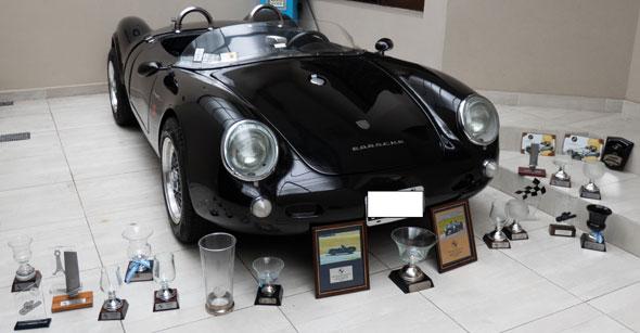 Car Porsche 550