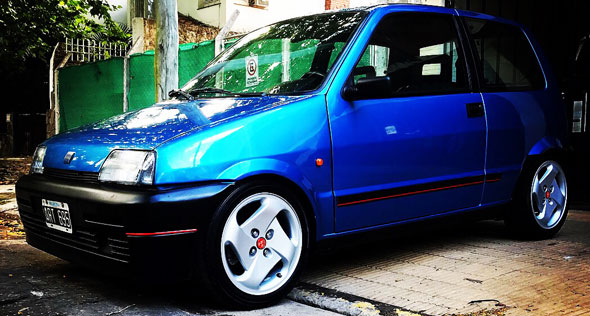 Car Fiat Cinquecento Suite