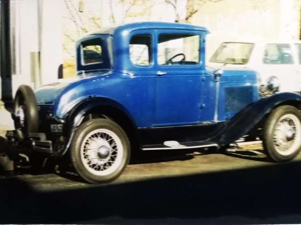 Car Ford A Voiture