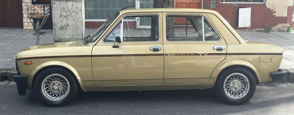 Auto Fiat CLI 1981