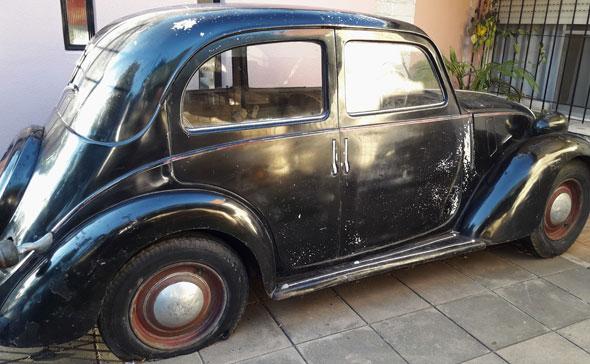 """Auto Fiat Balilla 508 """"C"""