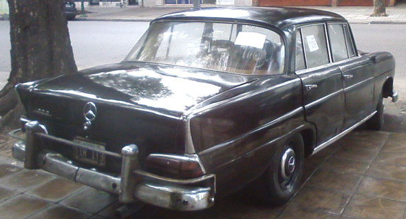 Car Mercedes Benz 190 D  1962