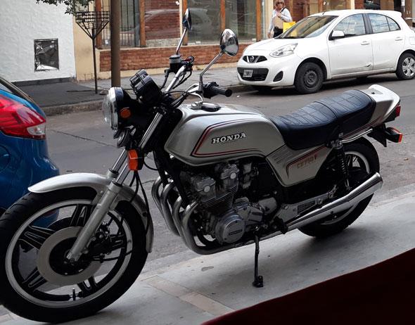 Honda CB750F Motorcycle