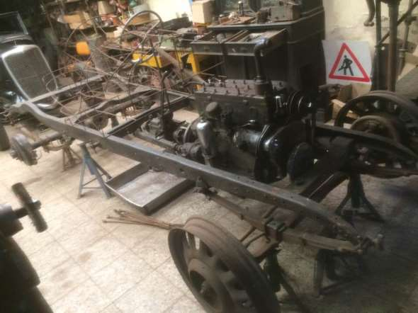 Auto Rugby 1928 Baquet