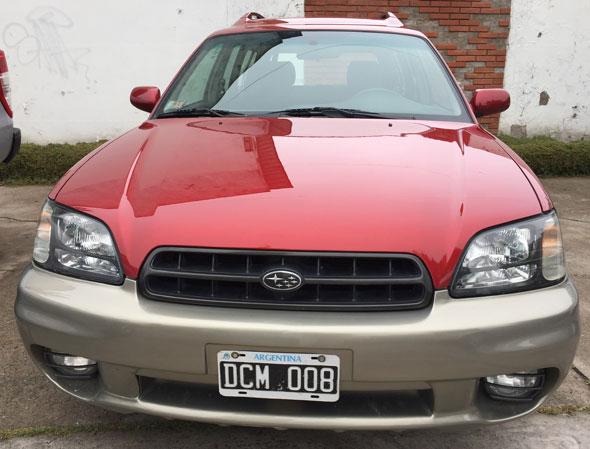 Car Subaru Legacy Outlander Sw 4x4