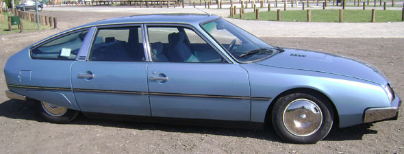 Auto Citroen CX Athena 1981