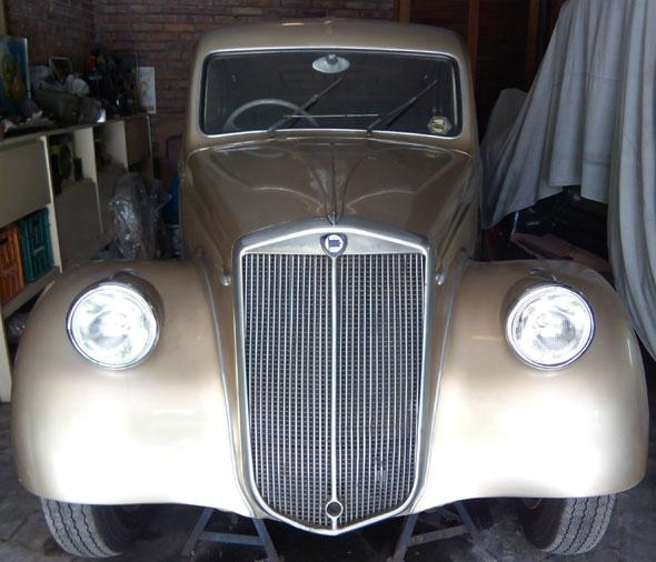 Car Lancia Aprilia 1946