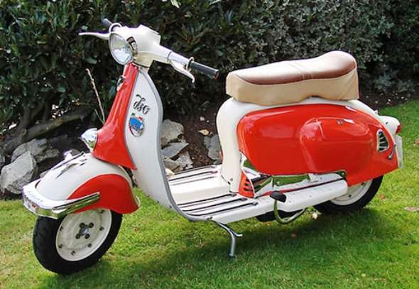 ISO Milano 1959 Motorcycle