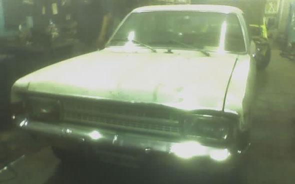 Auto Opel Rekord