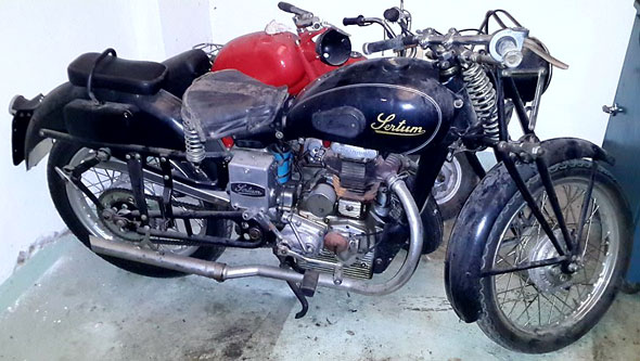 Moto Sertum 250