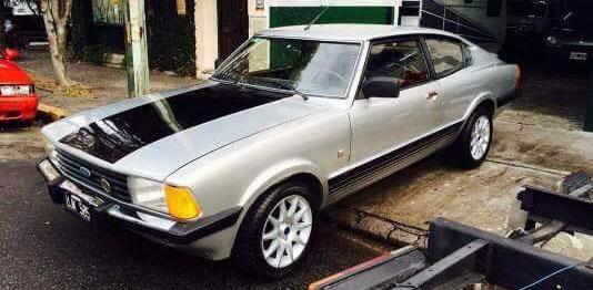 Car Ford Taunus Coupé SP