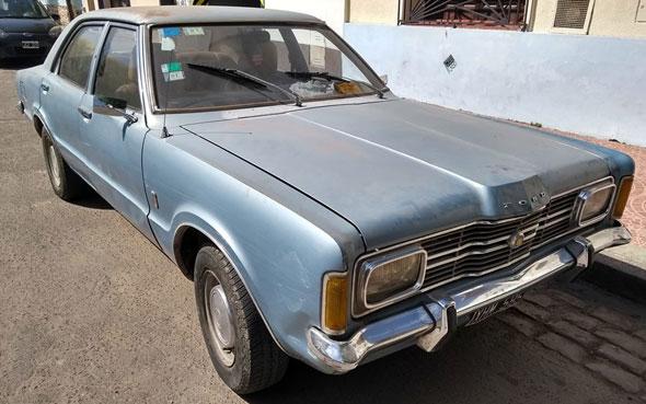 Car Ford Taunus 1977
