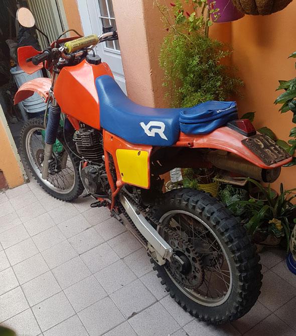 Honda XR Motorcycle