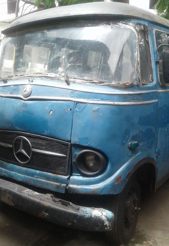 Auto Mercedes Benz L319 1961