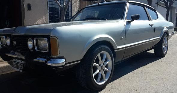 Auto Ford Taunus GT SP