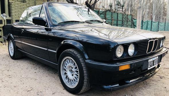 Auto BMW 325i E30 Cabrio