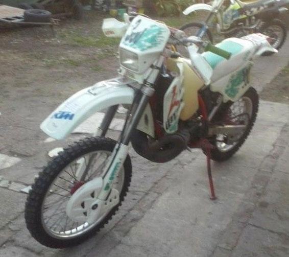 Moto KTM Exc 300
