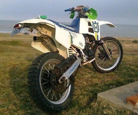 Moto Husqvarna Wxe 350