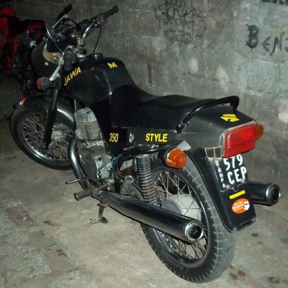 Jawa 640-350 Style Motorcycle