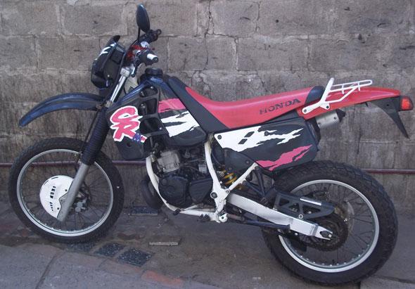 Moto Honda CRM 125