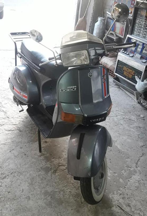Vespa Select Motorcycle