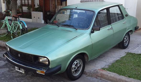 Auto Renault 12 TL