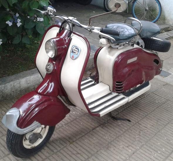 Moto Siambretta LD 1956
