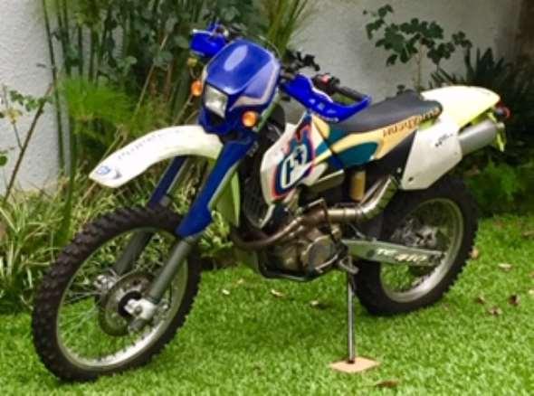 Moto Husqvarna 410 TE
