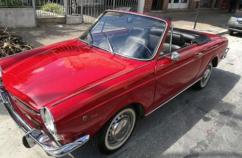 Car Fiat Spider