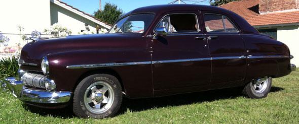 Auto Mercury 1950