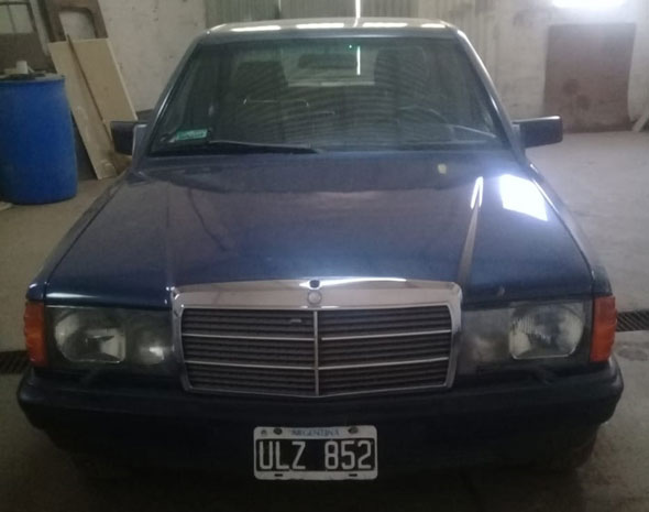 Auto Mercedes Benz 1988