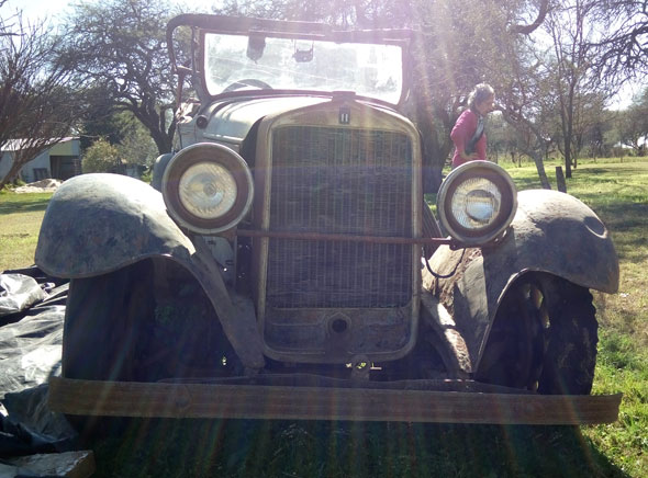 Auto Ford T 1925  Erskine