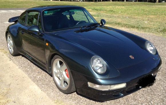 Auto Porsche 993 Turbo 1996