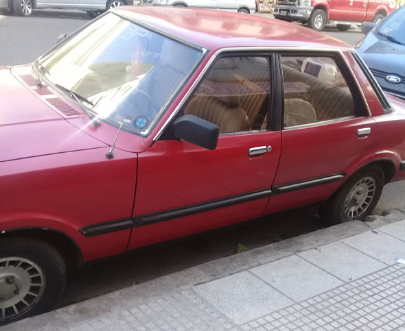 Car Ford Taunus 1982