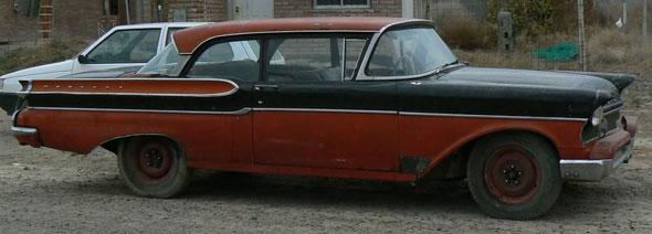 Car Mercury Monterey 1957
