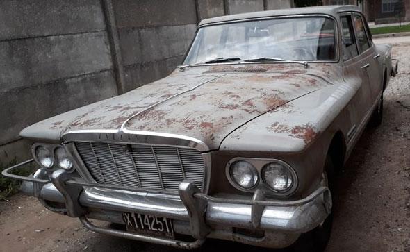 Auto Valiant 1962