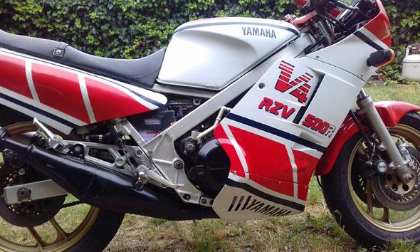 Yamaha RZV 500 R Motorcycle