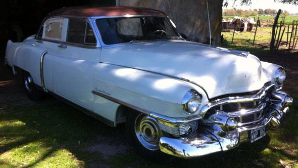 Auto Cadillac Fleetwood 1953