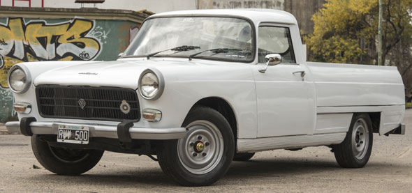 Auto Peugeot 404 Pick Up T5B