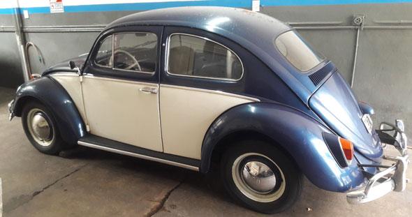 Car Volkswagen Escarabajo 1960