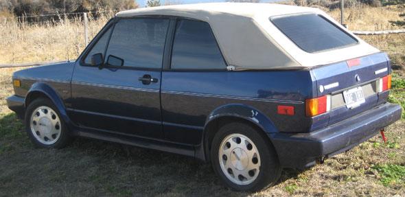 Car Volkswagen Cabriolet