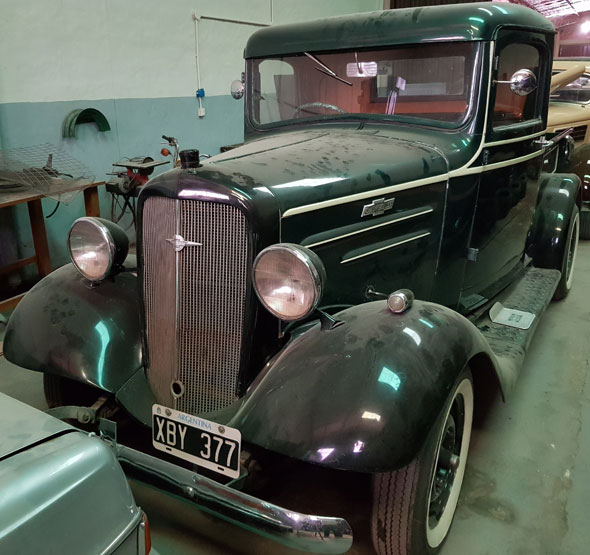 Auto Chevrolet Pick Up 1936