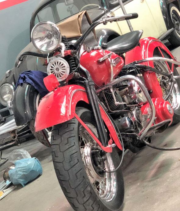 Moto Harley Davidson WL750