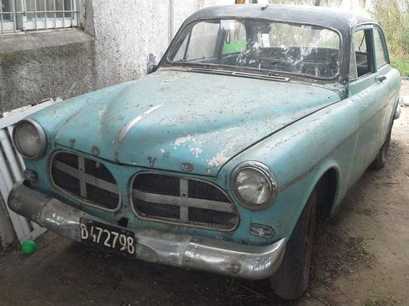 Auto Volvo 1962