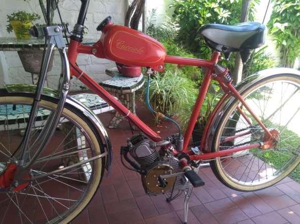 Moto Ducati Cucciolo T3