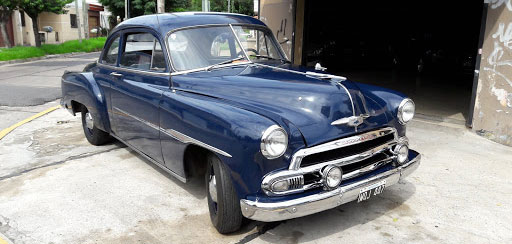 Car Chevrolet 1951 Coupe