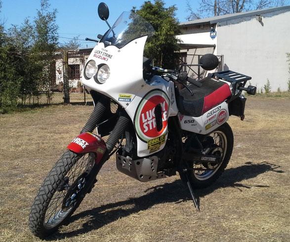 Suzuki DR 650 Motorcycle