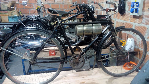 Bike Cucciolo T3 Ducati